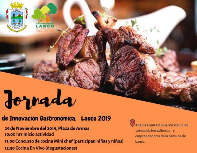 Jornada de Innovación Gastronómica en Lanco