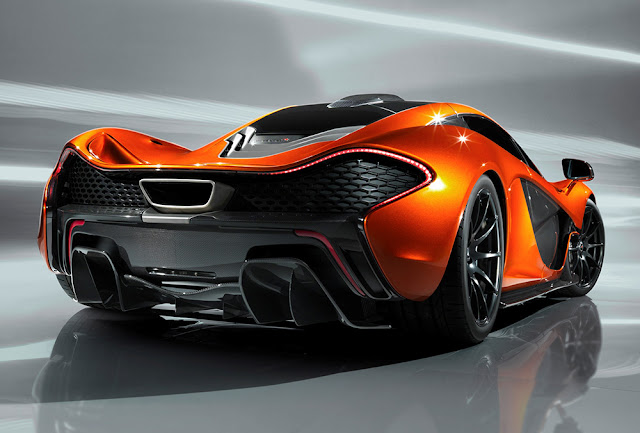The McLaren P1 Supercar