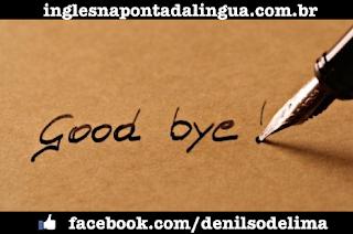Saying good-bye in English