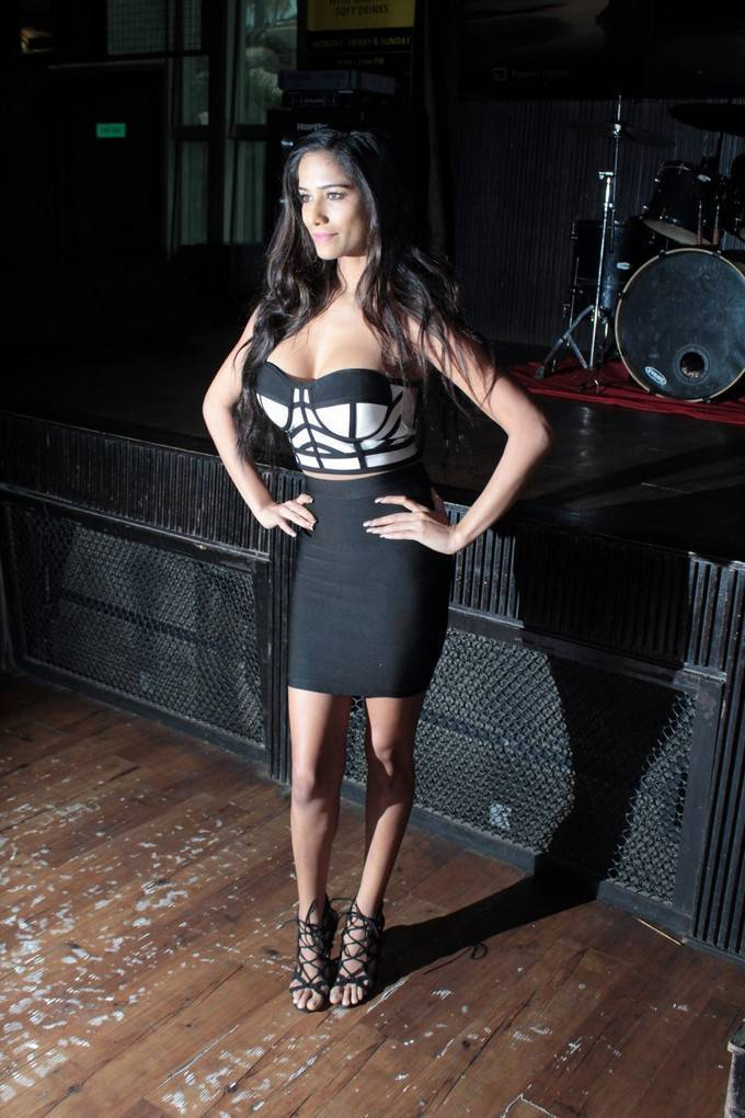 Poonam Pandey At Her Own App Launch Event Stills