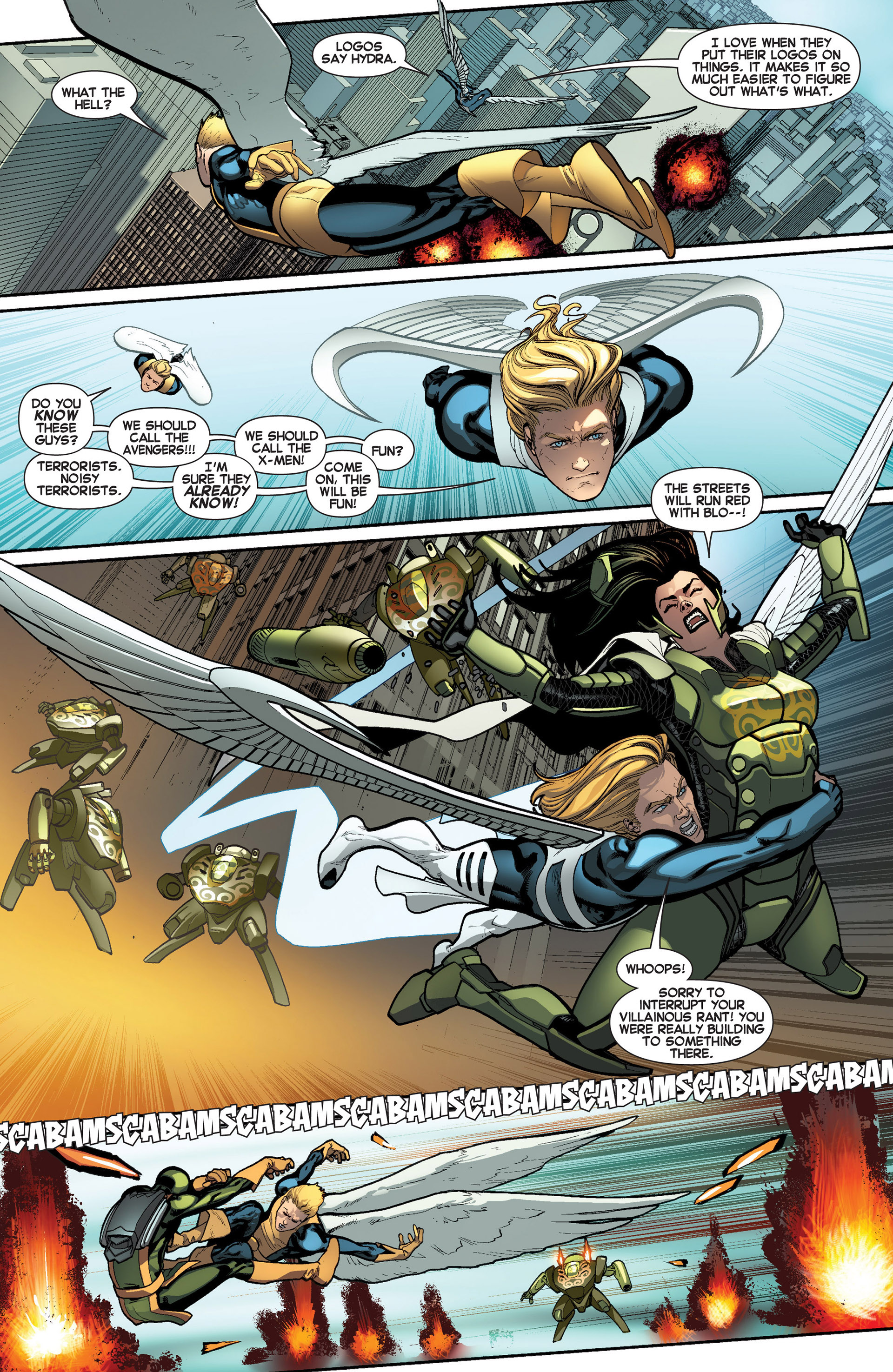 Read online All-New X-Men (2013) comic -  Issue #8 - 5