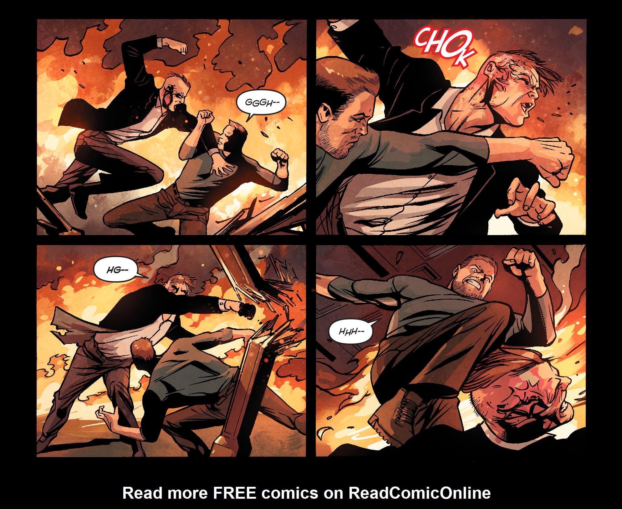Read online Arrow: Season 2.5 [I] comic -  Issue #22 - 13