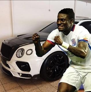 Obafemi Martins Buys World FASTEST Bentley SUV