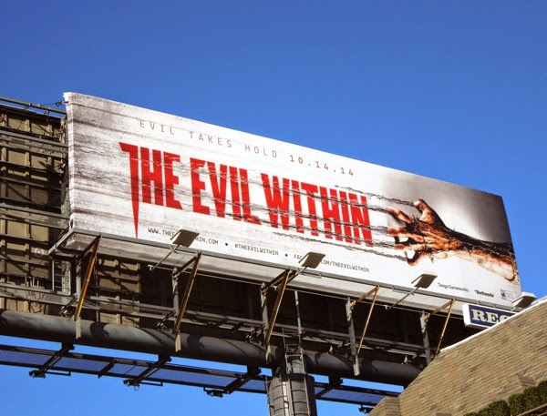 The Evil Within movie billboard