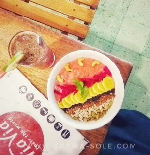 smoothies bowl di viavia resto
