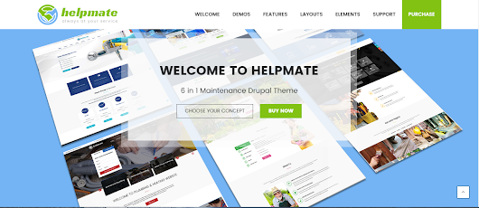 Drupal Theme Collection by Arrowtheme on Themeforest.net