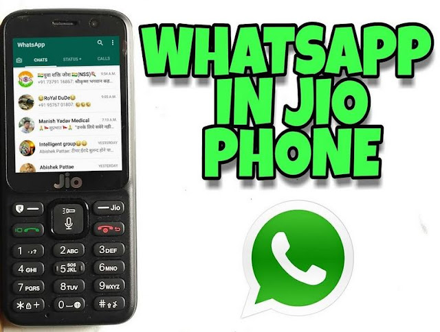 how to install whatsapp in jio phone