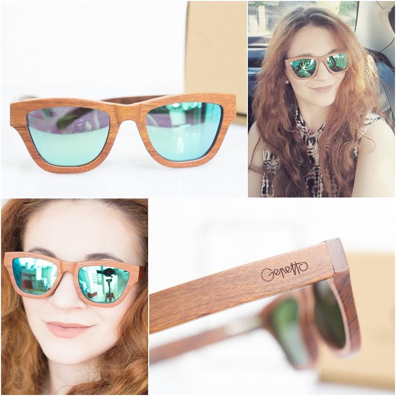 GEPETTO Drewniane okulary przeciwsłoneczne i korekcyjne
