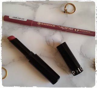 Sephora Lipstick 5 and essence lipliner 6