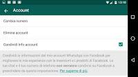Whatsapp condivide numero e info con Facebook: come impedirlo e che significa?