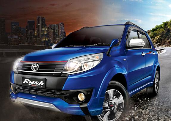 Spesifikasi dan Harga Mobil New Toyota Rush TRD Sportivo Ultimo Terbaru 2016 Jakarta