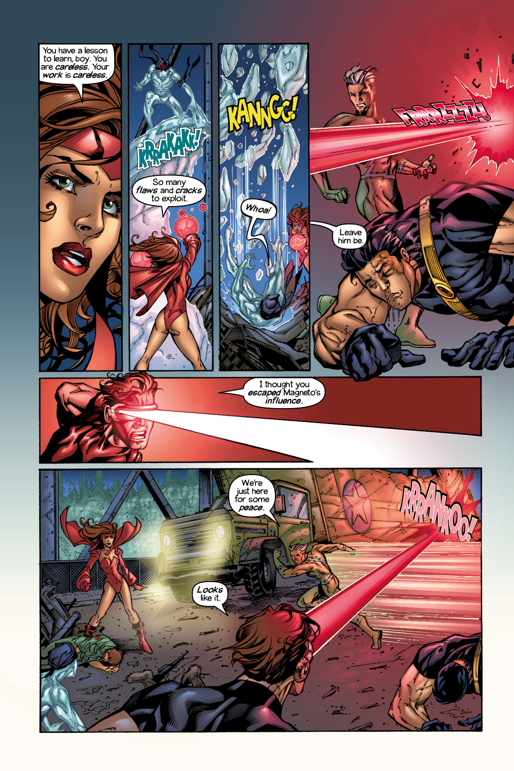 Read online Ultimate X-Men comic -  Issue #1/2 - 9
