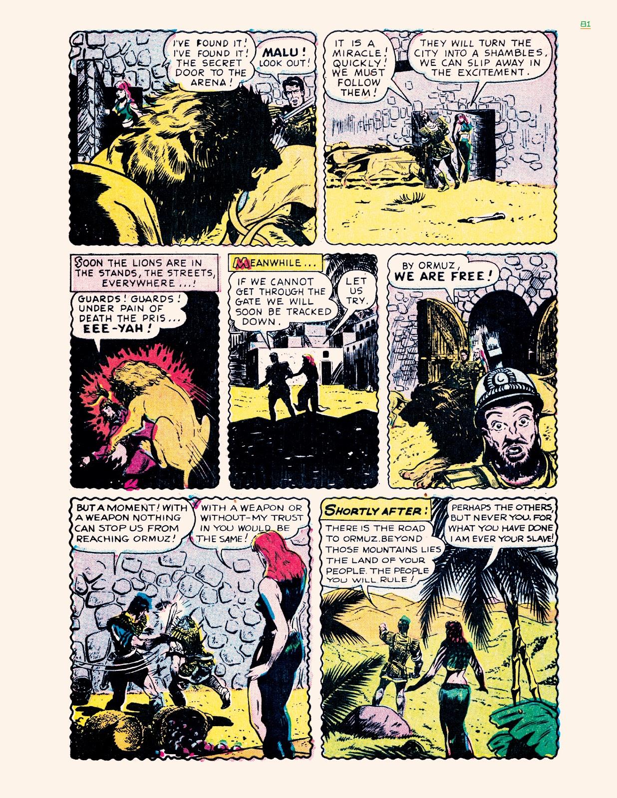 Read online Jungle Girls comic -  Issue # TPB (Part 1) - 81