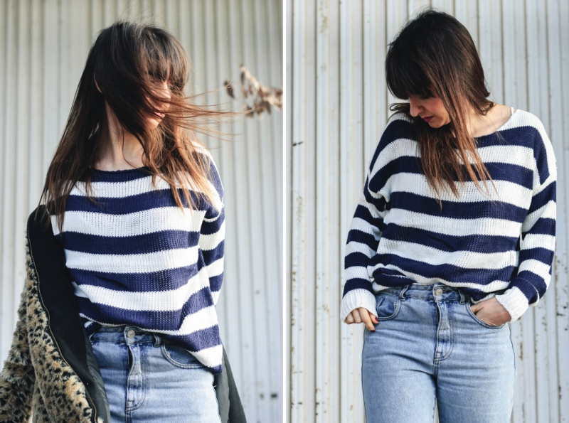 Stripes Sweater Dresslily