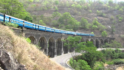 The best train journey in India - Punalur Aryankavu in Kerala