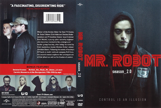 Mr. Robot Season 2.0 DVD Cover