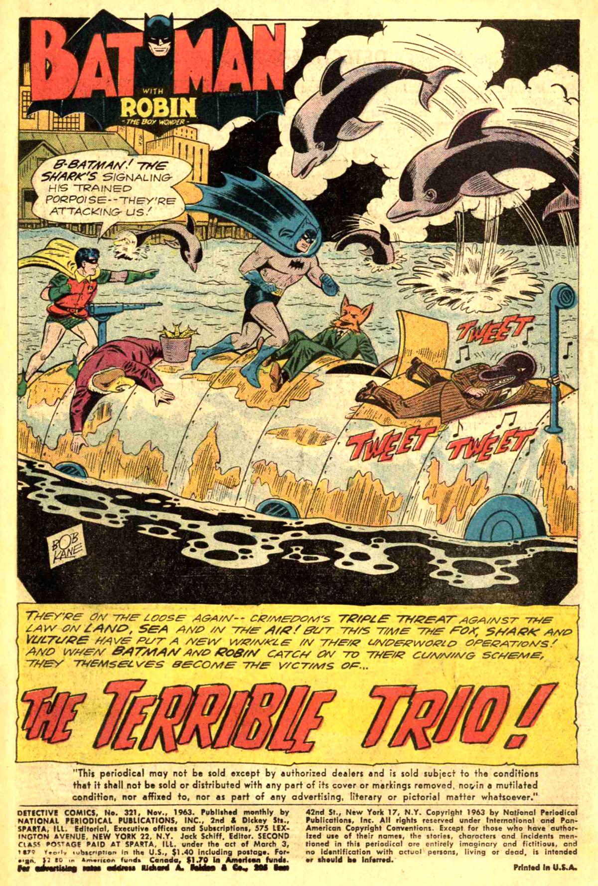 Detective Comics (1937) 321 Page 2
