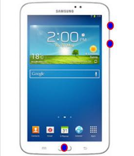 Cara Masuk Menu Recovery Samsung Galaxy Tab 3