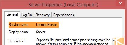 vGeek: List account configured on logon of Windows Service