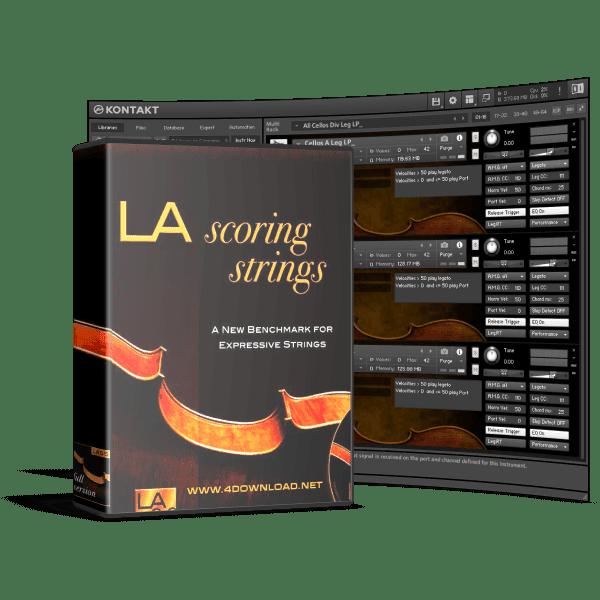 Audiobro - LA Scoring Strings KONTAKT Library
