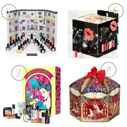 Calendarios de Adviento Beauty: Ciaté - Lidl - Benefit - Yankee Candle