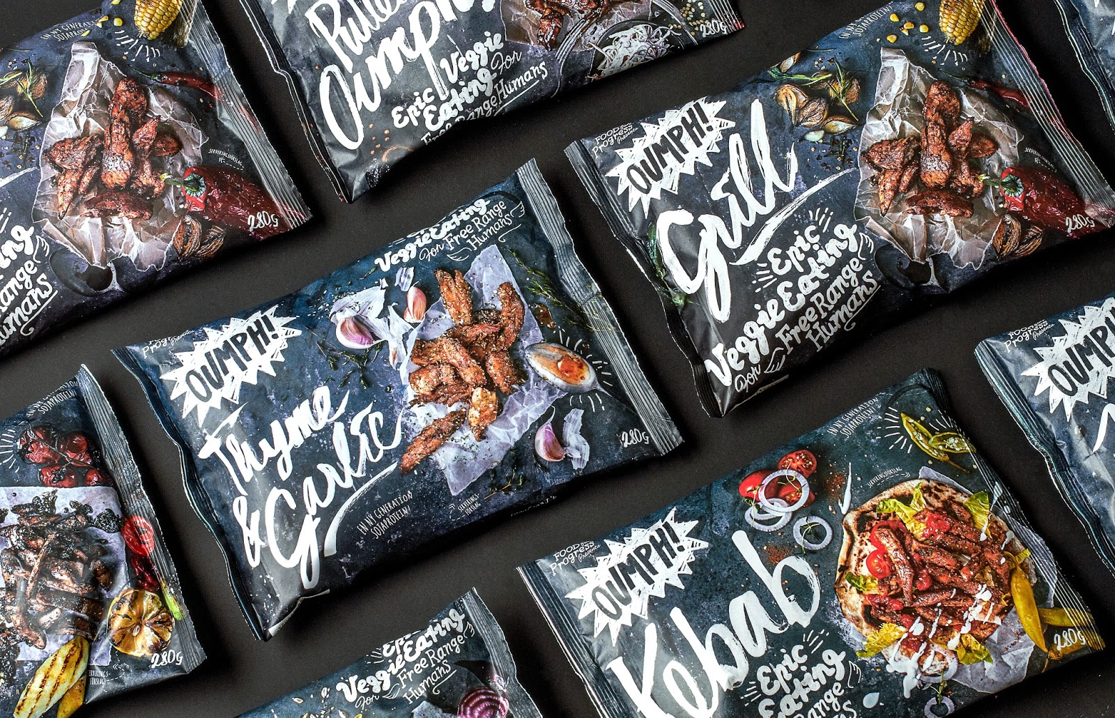 Oumph The New And Hyped Veggie Brand On Packaging Of