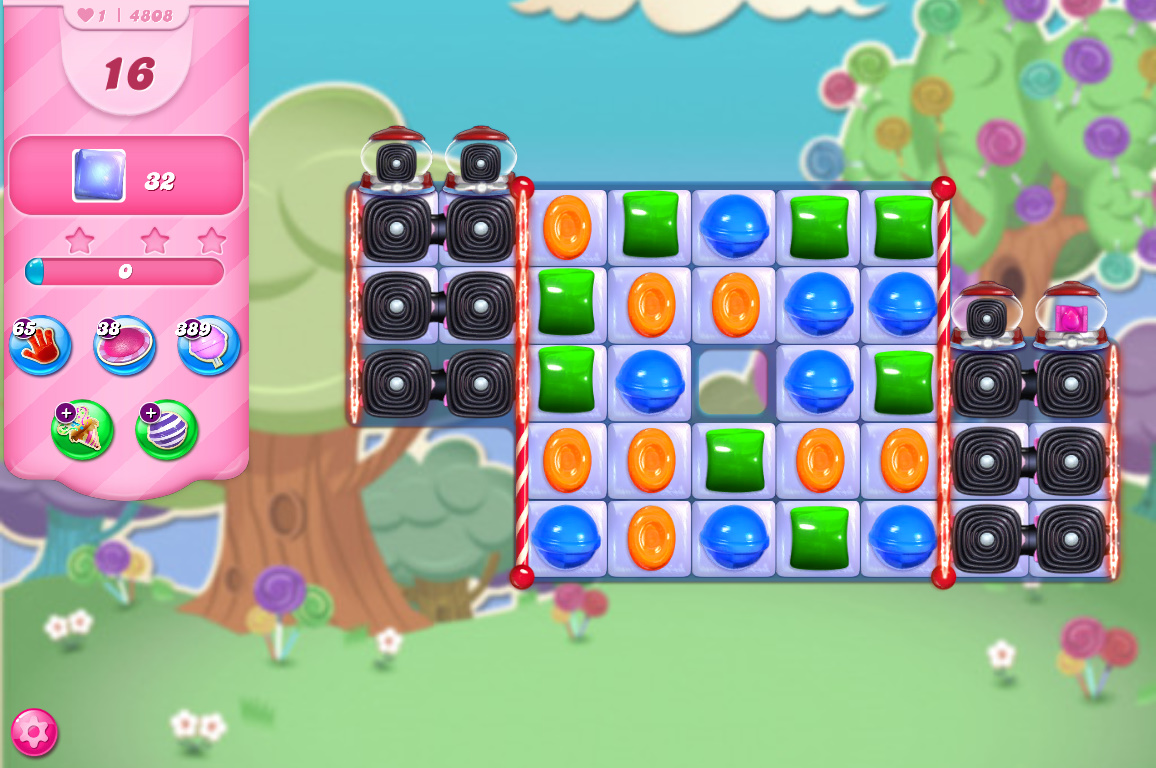 Candy Crush Saga level 4808