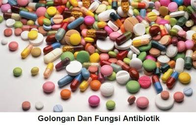 Jenis, Golongan, Fungsi Dan Efek Samping Obat Antibiotik