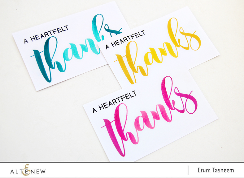 Altenew Mega Greetings Stamp Set | Erum Tasneem | @pr0digy0