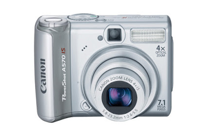 Canon PowerShot A570 IS Driver Download Windows, Mac