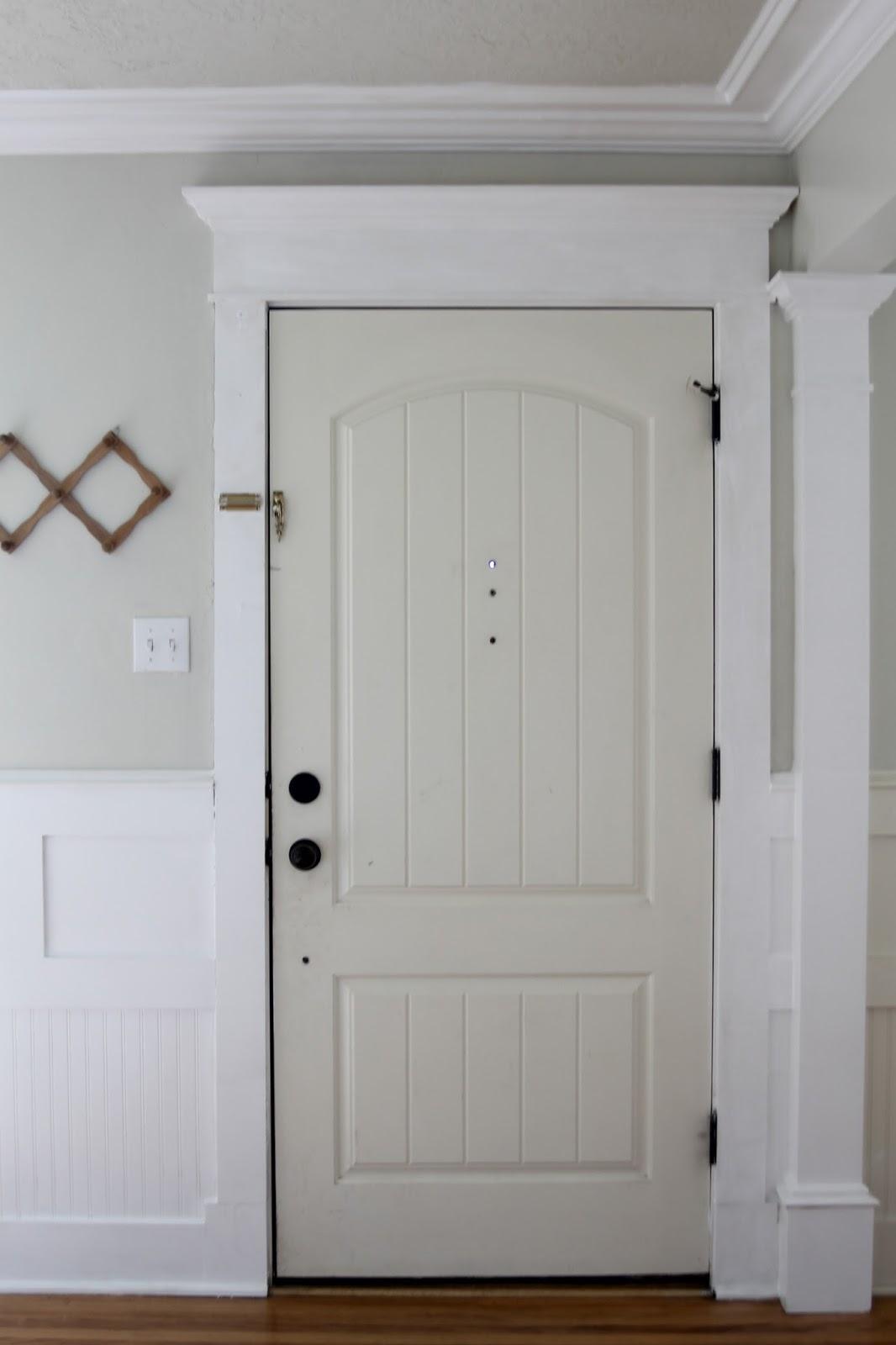Painted Interior Door - The Wicker House