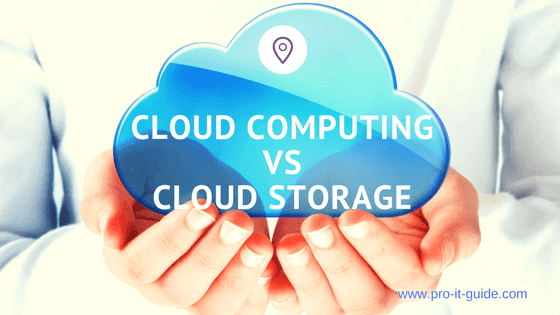 Cloud Computing Vs Cloud Storage