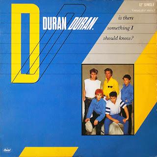 Duran Duran Is There Something I Should Know okładka singla