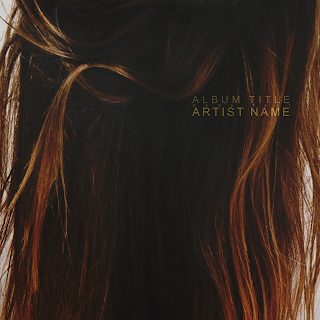 Hair themed background image iTunes/Soundcloud/Spotify ready album cover, also perfect for CD and Vinyl music releases