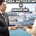 Pres. Duterte, humingi ng tulong sa Singapore para sa plantang kayang gawing inumin ang tubig dagat