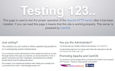 Apache testing 123