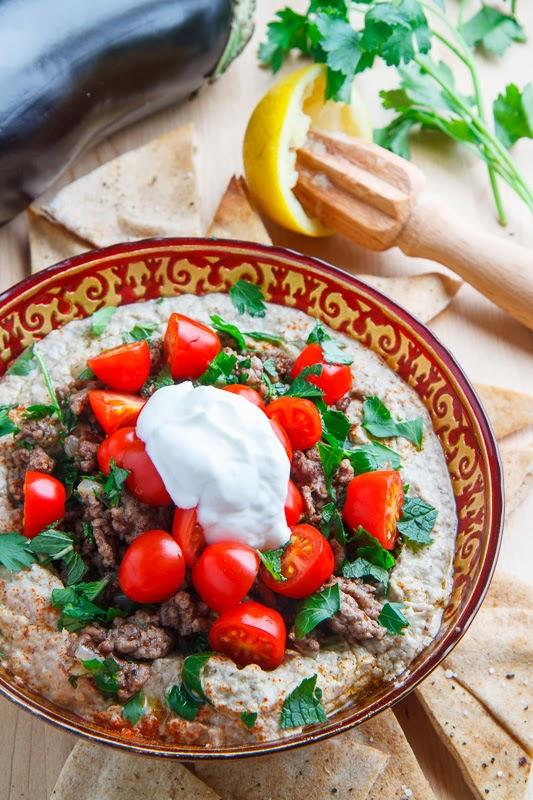 Baba Ghanoush Burrito Bowl