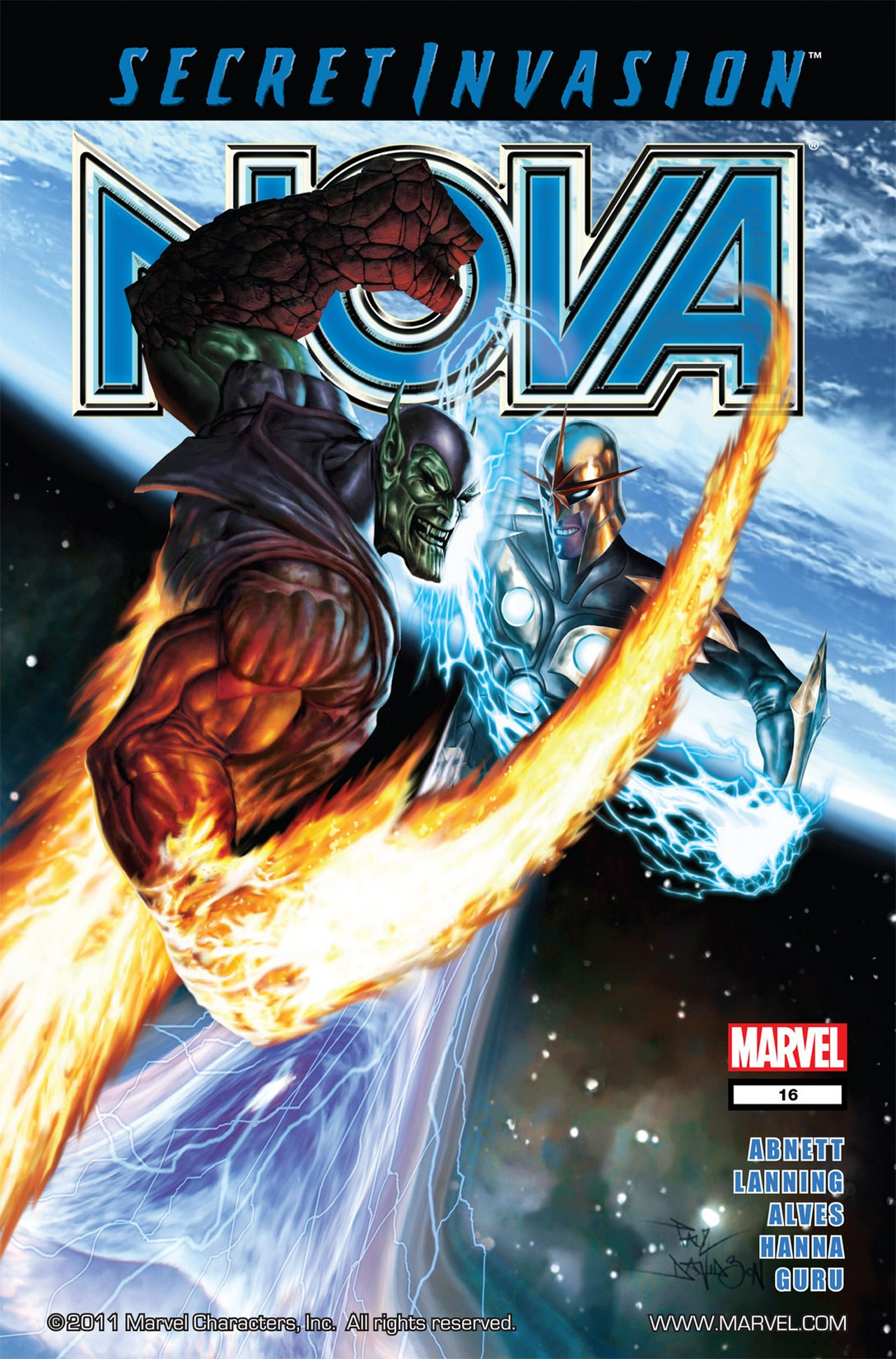 Nova (2007) issue 16 - Page 1
