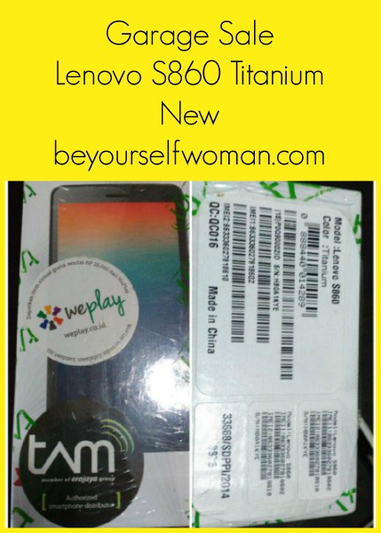 Garage Sale Lenovo S860 Titanium New