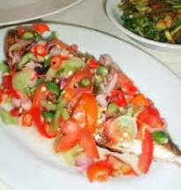 Cara Memasak Sambal Ikan Colo-Colo Yang Enak Dan Pedas, resep sambal ikan colo-colo yang lezat, cara membuat sambal ikan colo-colo yang nikmat