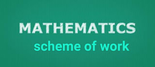 Mathematics: Second Term's Scheme of Work for JSS 1 – 3