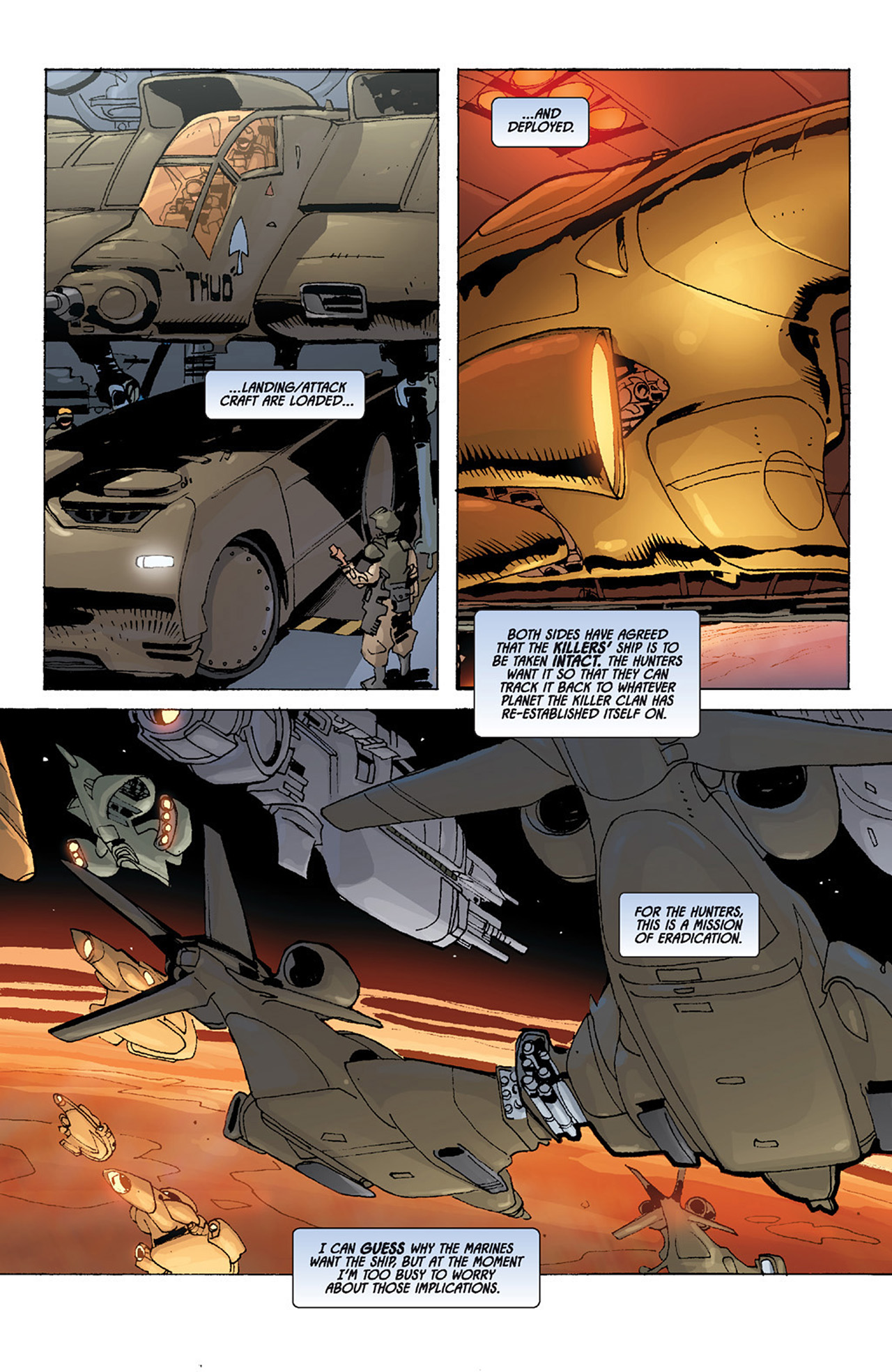 Read online Aliens vs. Predator: Three World War comic -  Issue #4 - 4