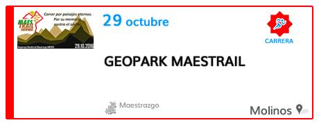 III Geopark Maestrail en el Maestrazgo
