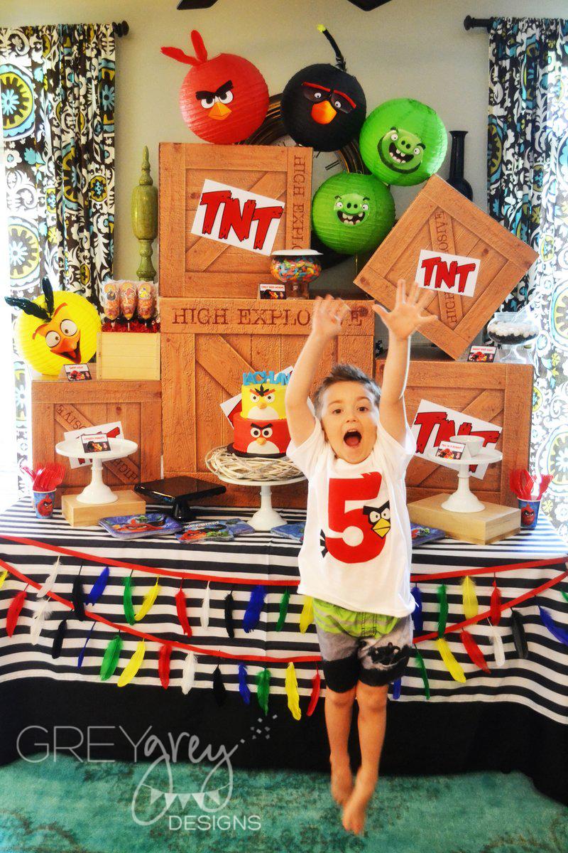 GreyGrey Designs: {My Parties} Angry Birds Birthday Party