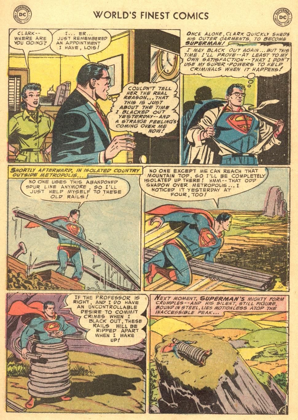 Read online World's Finest Comics comic -  Issue #70 - 7