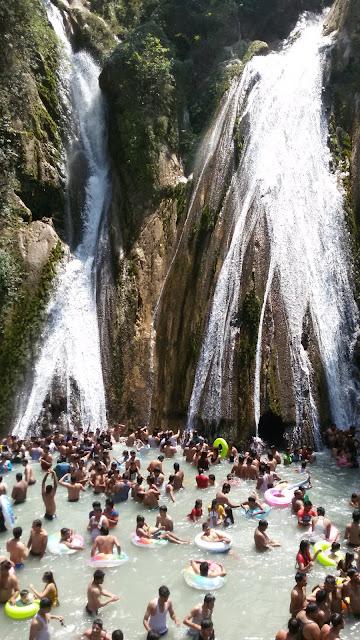 Waterfalls in Dehradun