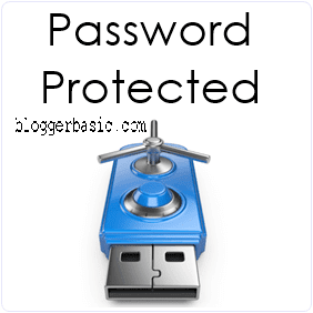How To Protect USB Pendrive With Password ?