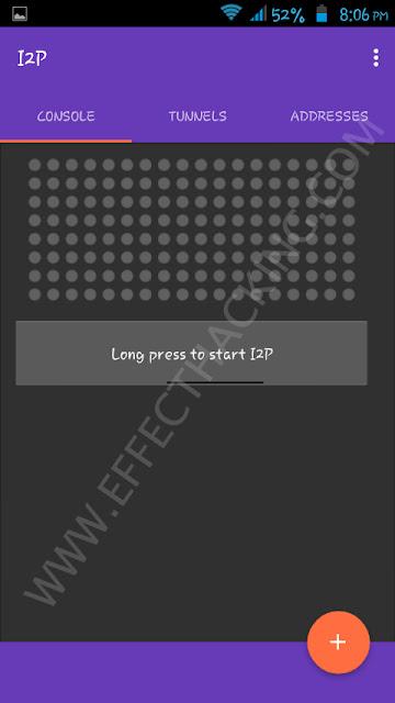 I2P Main Menu