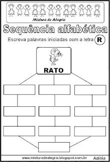 Sequência alfabética letra R