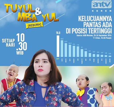Foto Nama Pemain Sinetron Tuyul dan Mbak Yul Reborn ANTV Terlengkap